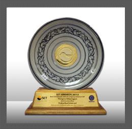 รางวัลผู้บริหารสูงสุดยอดเยี่ยม ( Best CEO Award 2013 )